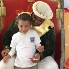 Visita del Paje de los Reyes Magos