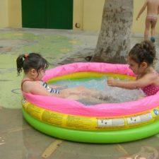 Fiesta del agua del alumnado de 3 años
