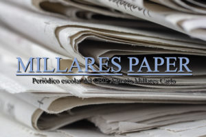 Closeup shot of newspapers stacked on top of each other
