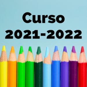 Inicio del curso 2021-2022
